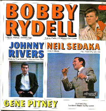 Albumcover Various Artists of the 60s - Bobby Rydell, Johnny Rivers, Neil Sedaka, Gene Pitney