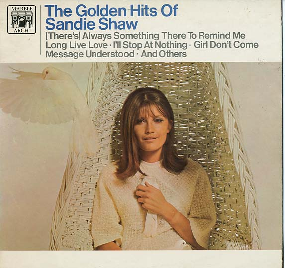 Albumcover Sandie Shaw - The Golden Hits of Sandie Shaw