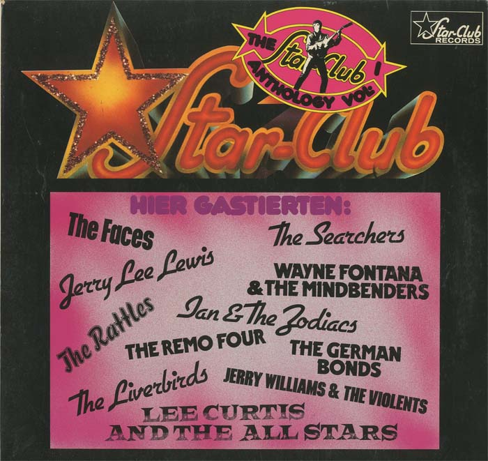 Albumcover Star Club Records - The Star Club Anthology Vol. 1