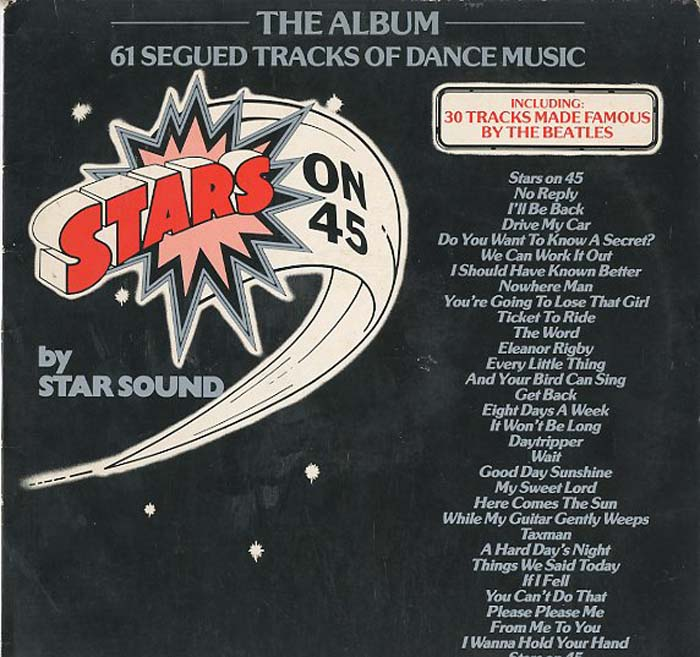 Albumcover The Beatles - Stars on 45