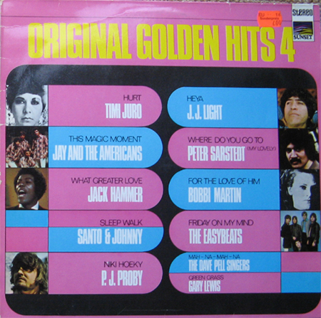 Albumcover Original Golden Hits (Sunset Sampler) - Original Golden Hits 4 (Sunset Sampler)