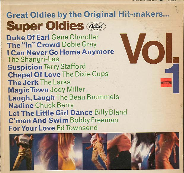 Albumcover Capitol Sampler - Super Oldies - Great Oldies By the Original Hitmakers Vol. 1