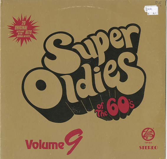 Albumcover Various Artists of the 60s - Super Oldies of the 60s Volume 9
