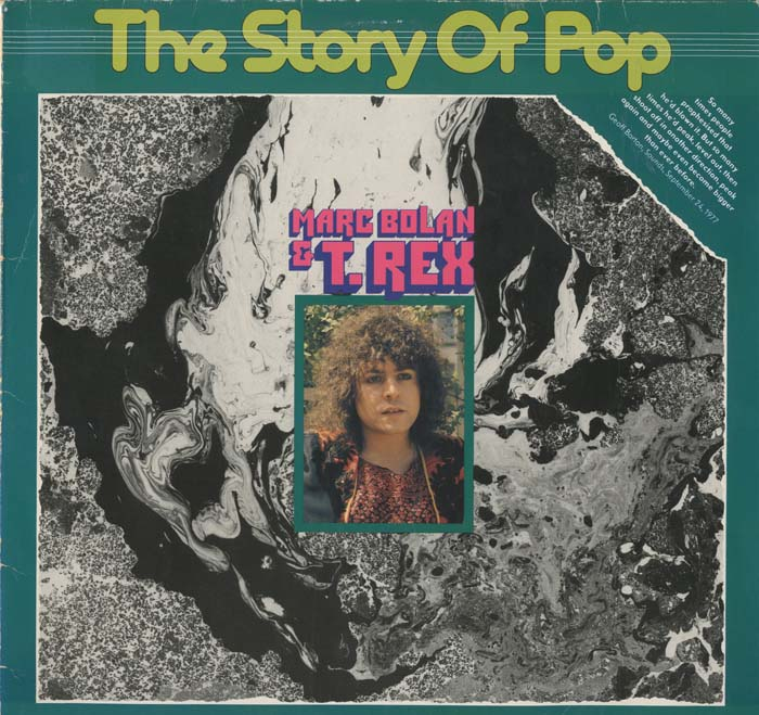 Albumcover T.Rex - The Story of Pop (Marc Bolan & T.Rex)