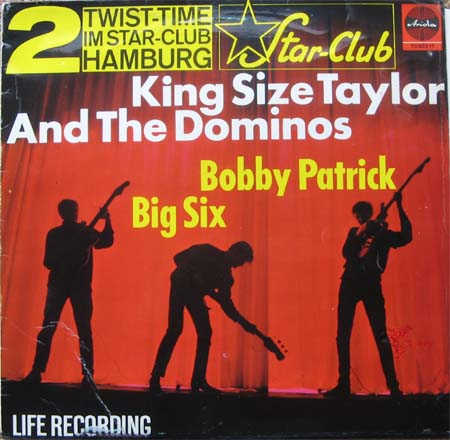 King Size Taylor The Dominoes Teenbeat 2 From The Star Club Hamburg