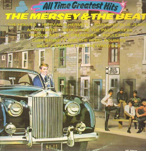 Albumcover Various GB-Artists - The Mersey & The Beat (DLP)