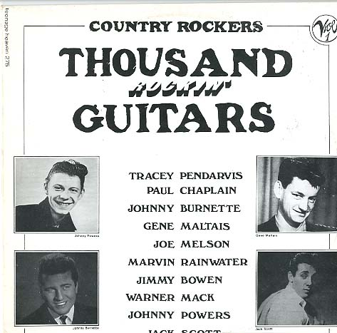 Albumcover Various Artists of the 60s - Thousand Rockin Guitars