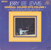 Cover: Jerry Lee Lewis - Original Golden Hits Volume 1