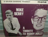 Cover: Mike Berry - A  Tribute To Buddy Holly (Golden Diamond, diff. tracks)