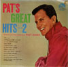 Cover: Pat Boone - Pat´s Great Hits Volume 2