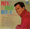 Cover: Pat Boone - Pat Boone / Pat´s Great Hits Volume 2