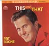 Cover: Pat Boone - This and That
