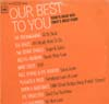 Cover: Columbia / EMI Sampler - Our Best To You - Today´s Great Hits - Todays Great Stars