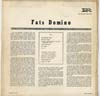 Cover: Fats Domino - Fats Domino (OHNE FRONT-COVER-)