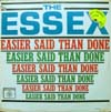 Cover: The Essex - The Essex / Easier Said Than Done