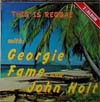 Cover: Georgie Fame and John Holt - This is Reggae with Georgie Fame and John Holt (DLP)