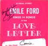 Cover: Emile Ford - Emile Ford Sings 14 Songs in This Love Letter