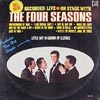 Cover: Four Seasons, The - On Stage With The Four Seasons - Recorded Live