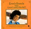 Cover: Connie Francis - Connie Francis / Sings Great Country Hits Vol. 2