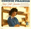 Cover: Connie Francis - Sings Folk Favorites