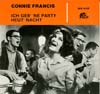 Cover: Connie Francis - Ich geb ´ne Party heut´ Nacht   -