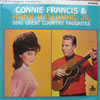 Cover: Connie Francis and Hank Williams Jr. - Connie Francis and Hank Williams Jr. / Connie Francis & Hank Williams Jr. Sing Great Country Favorites