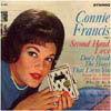 Cover: Connie Francis - Connie Francis / Second Hand Love