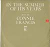 Cover: Connie Francis - Connie Francis / In The Summer Of His Years