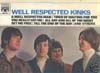 Cover: The Kinks - The Kinks / Well Respected Kinks