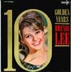 Cover: Lee, Brenda - 10 Golden Years