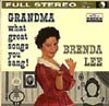 Cover: Brenda Lee - Grandma What Great Songs You Sang