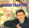 Cover: Johnny Tillotson - Johnny Tillotson / That´s My Style
