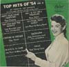 Cover: Various Artists of the 50s - Top Hits of 54 Vol 2 (25 cm)