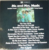 Cover: Trent, Jackie und Tony Hatch - Mr. and Mrs. Music (DLP)