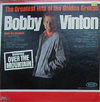 Cover: Bobby Vinton - The Greatest Hits of the Golden Groups