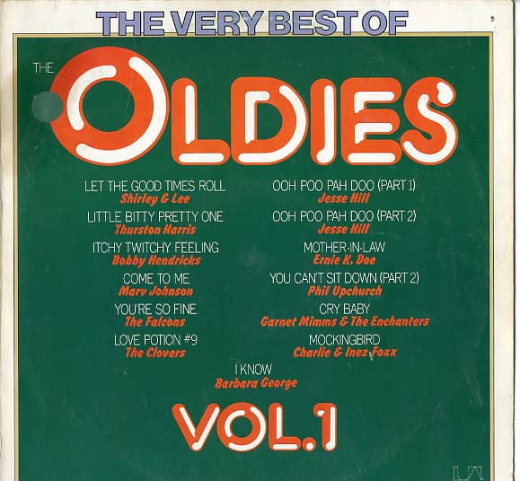 Albumcover The Very Best of Oldies -United Artists Sampler - The Very Best of Oldies Vol. 1