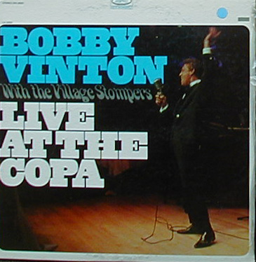 Albumcover Bobby Vinton - Live At The Copa - with the Village Stompers