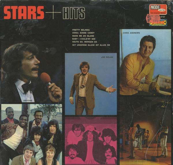Albumcover Vogue Sampler Deutsch/International - Stars + Hits - Top Stars with Top Hits