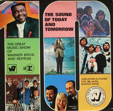 Albumcover Warner Brothers Sampler - The Sound of Today and Tomorrow