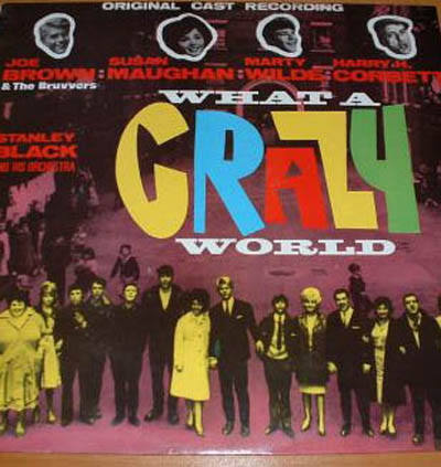Albumcover Joe Brown - What a Crazy World (Soundtrack)