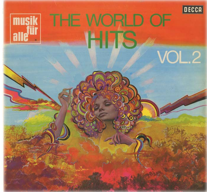 Albumcover The World of  Hits (Decca Sampler) - The World Of Hits Vol. 2