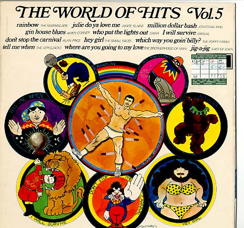 Albumcover The World of  Hits (Decca Sampler) - The World Of Hits Vol. 5