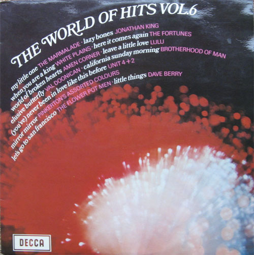 Albumcover The World of  Hits (Decca Sampler) - The World Of Hits Vol. 6