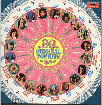 Albumcover Various Artists of the 70s - 20 Original Top Hits