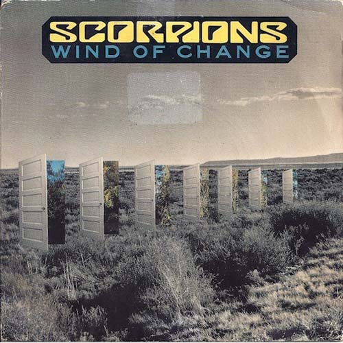 Albumcover The Scorpions - Wind Of Change / Tease Me Please Me (MAXI)
