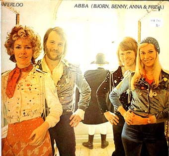 Albumcover Abba - Honey Honey - Club Ed. von Waterloo - Abba (Bjorn, Benny, Anna & Frida)