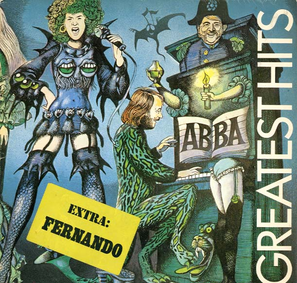 Albumcover Abba - Greatest Hits (Unterwasser-Cover)