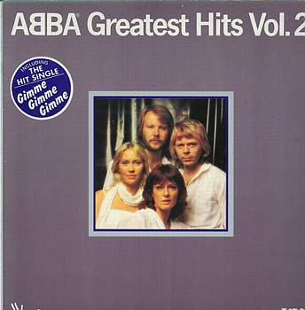 Albumcover Abba - Greatest Hits Vol. 2