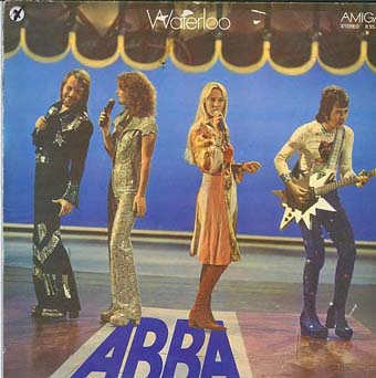 Albumcover Abba - Waterloo
