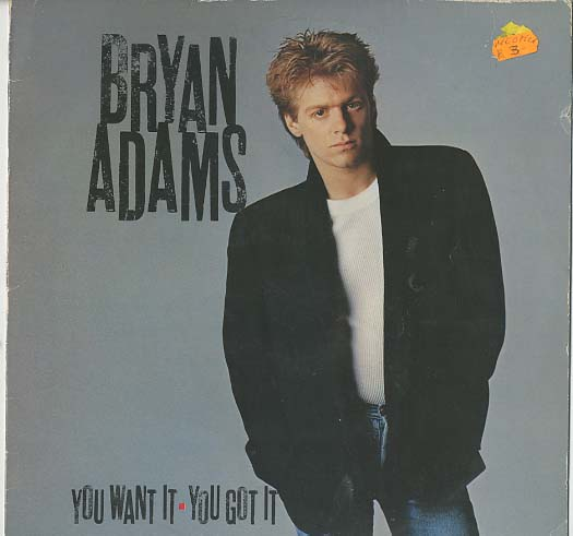 Albumcover Bryan Adams - Yow Want It - You Get It